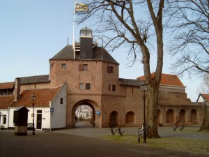 Dierenarts aan huis Harderwijk en omstrelken. Afbeelding stadspoort